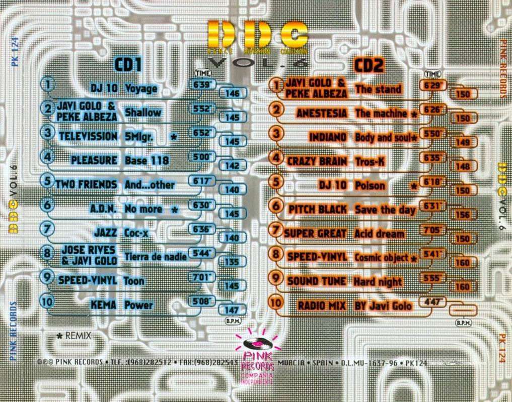 Javi Golo & Peke Albeza - Dance Division Vol. 42 EP