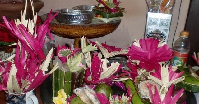 Banten Ayaban Tumpeng 7 Bungkul All About Yadnya