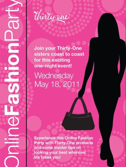 Thirty+One+051811+Invite over cups of joe thirty one home shopping event tonight only!,Thirty One Invitations