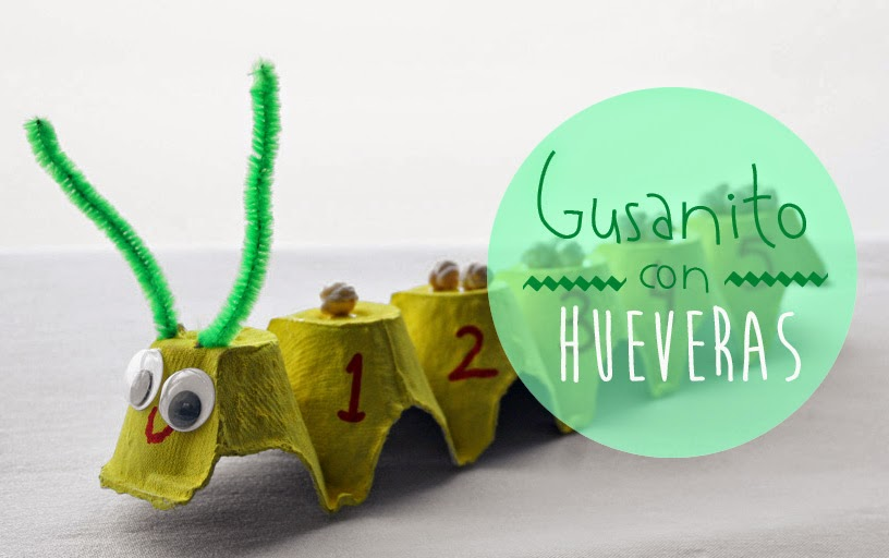 Gusanito numérico con huevera1