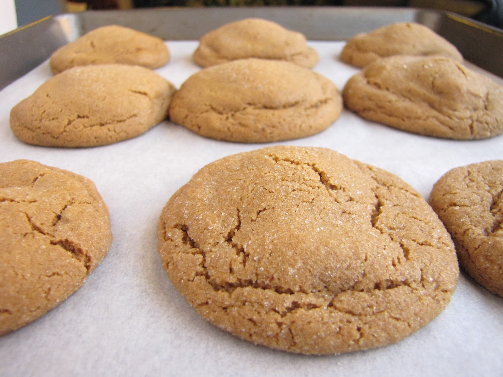 The Redd Party: Triple Ginger Caramel Cookies