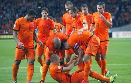 Belanda vs Wales