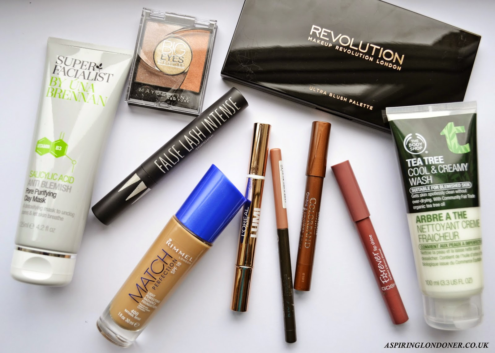 10 under £10 Drugstore Makeup Skincare Review - Aspiring Londoner