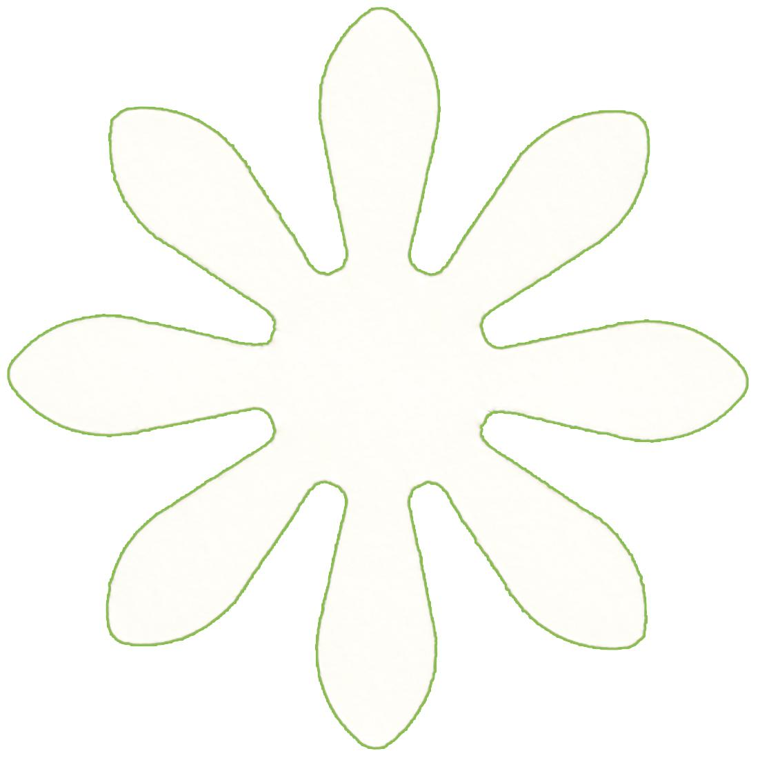 Ромашки из бумаги своими руками (схемы, шаблоны) Остров доброй надежды 26