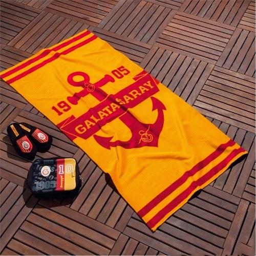 Galatasaray plaj havlusu