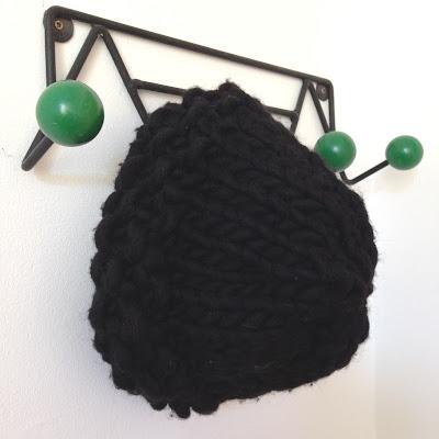 bonnet maille XXL filature du Valgaudemar