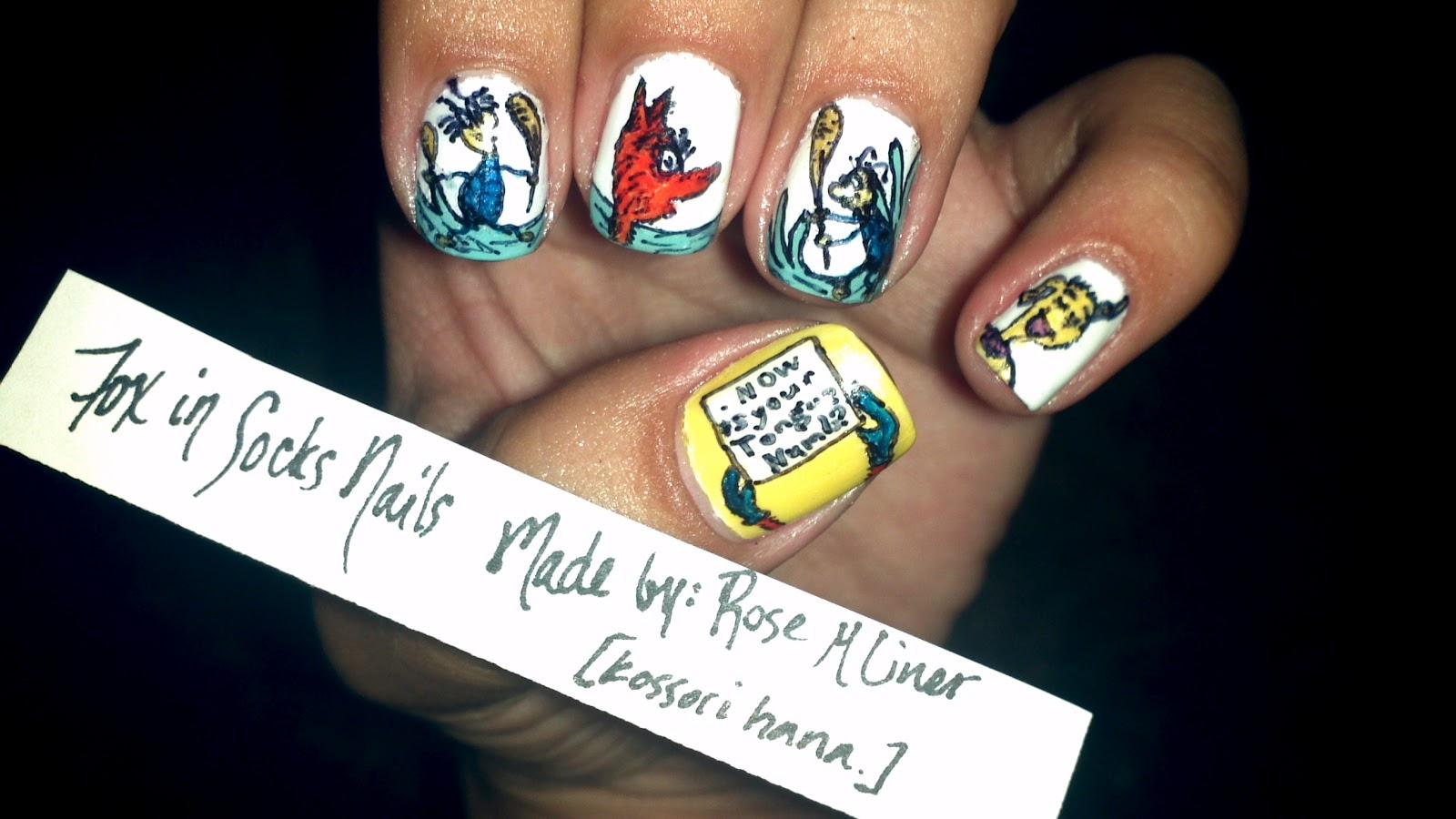 Kossori Hana Fox In Socks Nails