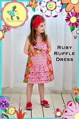 Ruby Ruffle Dress