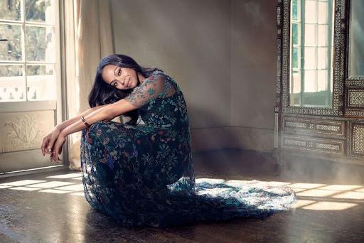 Zoe Saldana Latina Magazine photoshoot
