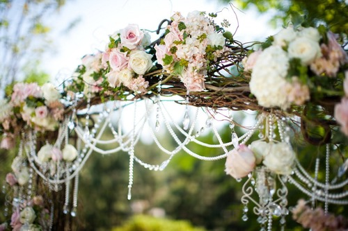 AMORE Beauty Fashion ❣ WEDDING BELL WEDNESDAY ❣ Blooming Delectable Wedding Bell Decorations