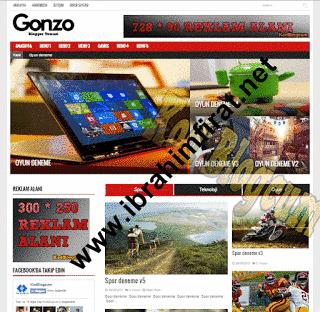 Gonzo Magazin - Teknoloji Teması