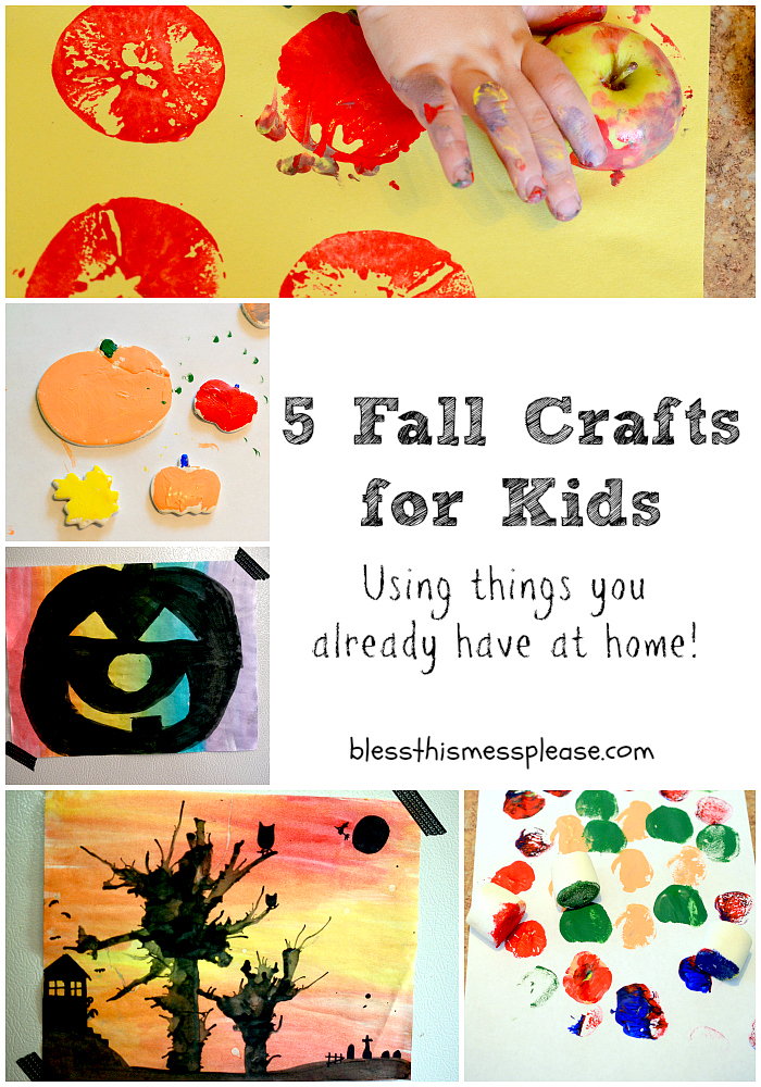 Fall Decorating Ideas for Preschool http://www.blessthismessplease.com/2012/09/5-fall-crafts-for-kids.html