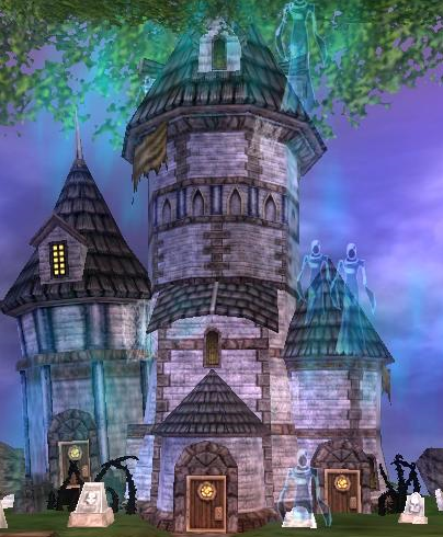 Wizard101 wizards keep halloween towers in ravenwood for 100 floor halloween level 1
