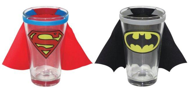 Dagens gadget: superhelte glas