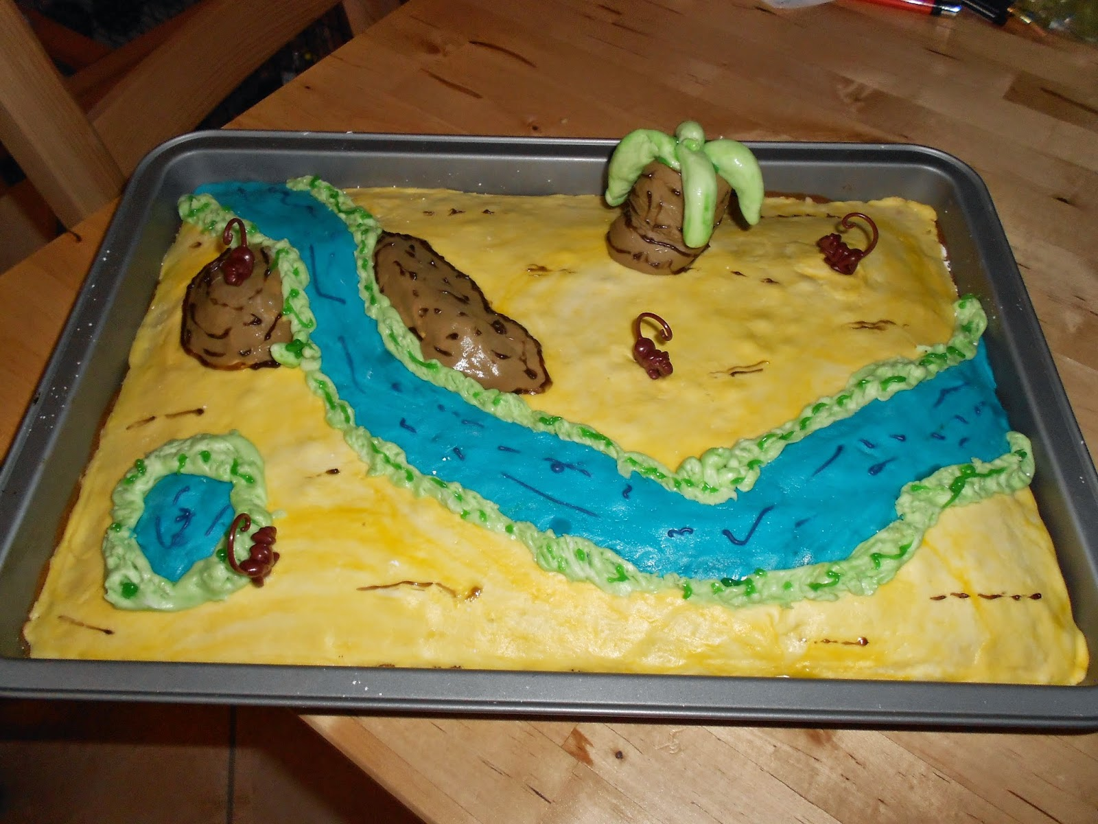 BackEule: Dschungel-Kuchen