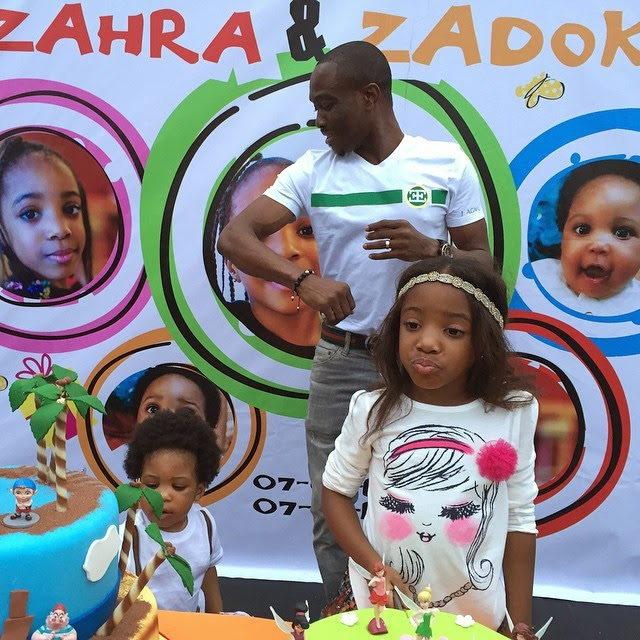 "Julius Agwu Celebrates His Children's Birthday With ""Collabo""  Party- Photos"