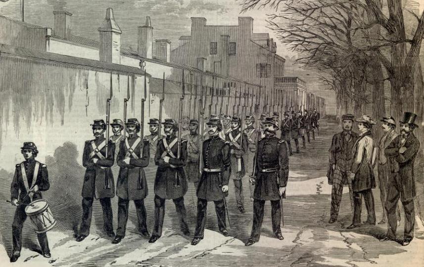 civil war washington dc us marine corps barracks