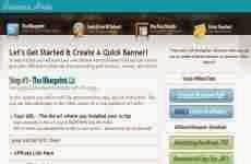 BannerHive: permite crear banners en flash online en forma gratuita