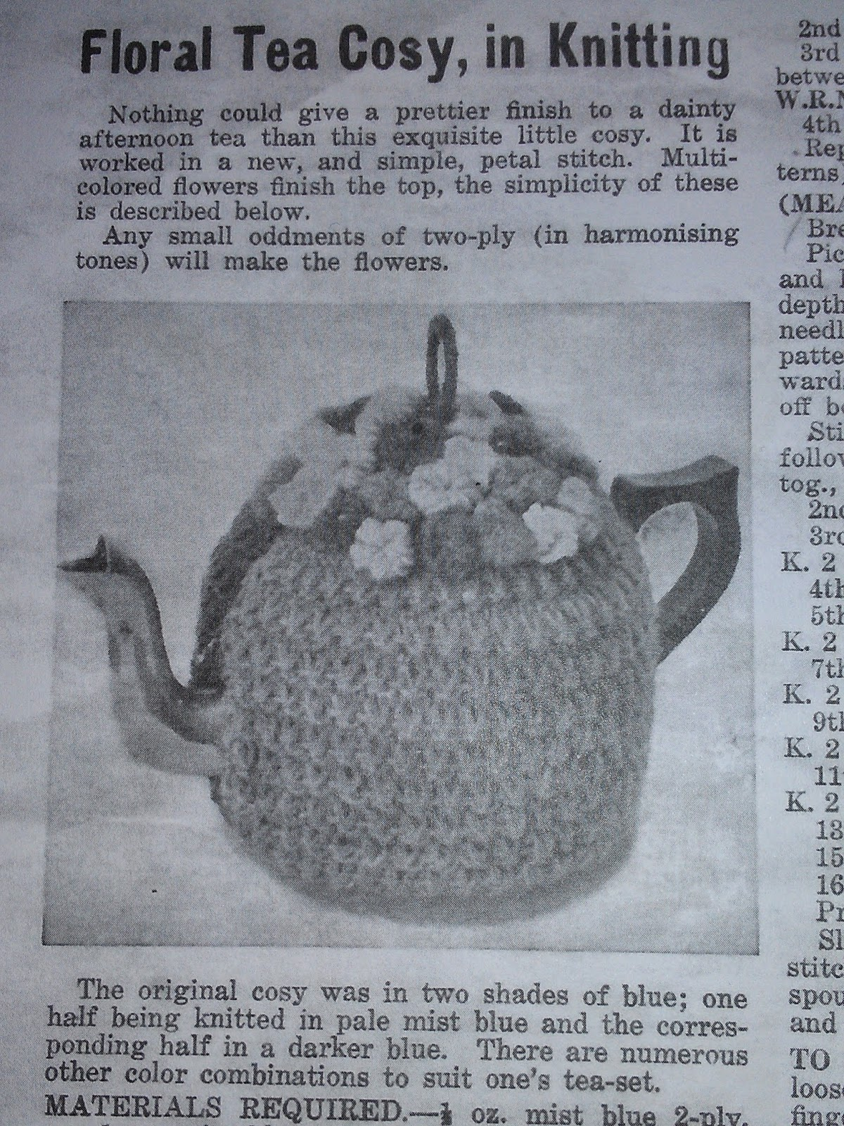Craft a cure for cancer free tea cosy patterns vintage tea cosy craft a cure for cancer free tea cosy patterns bankloansurffo Images