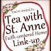Tea with Saint Anne Link-up Party!! {and July Crafts}