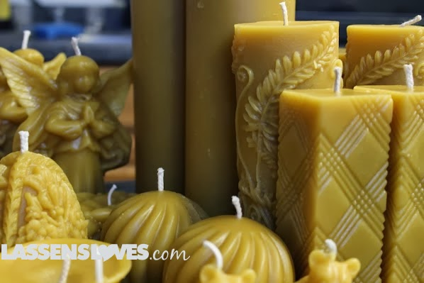 Bennetts+honey, beeswax+candles
