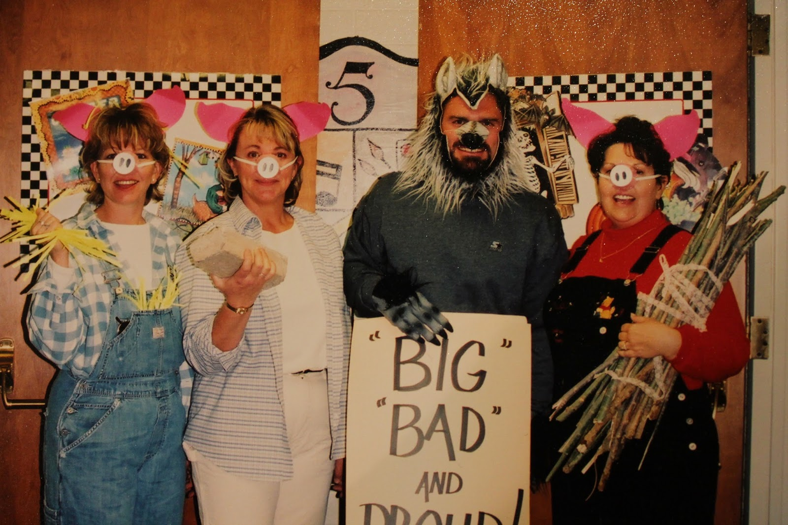 Three Little Pigs and  Big Bad and Proud  & Randomocity: Trick or Treat II (More costume ideas for groups)