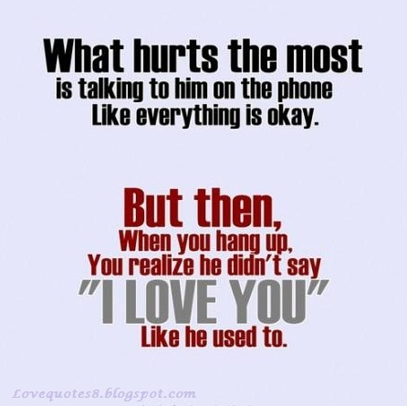 Sad Love Quotes For Him Quotes about Love