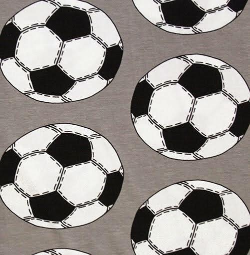 Suunnittelemani harmaa jalkapallo-trikoo