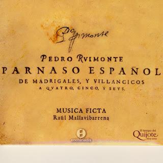 RIMONTE, P. - El Parnaso español de madrigales y villancicos