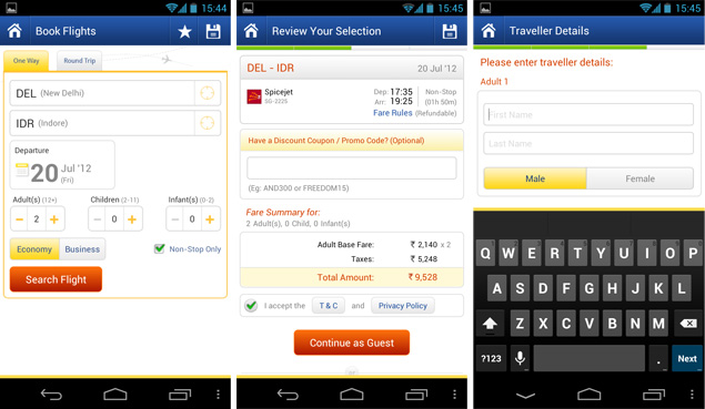 MakeMyTrip Mobile Users Discount : Rs 1000 Discount on Flight ...