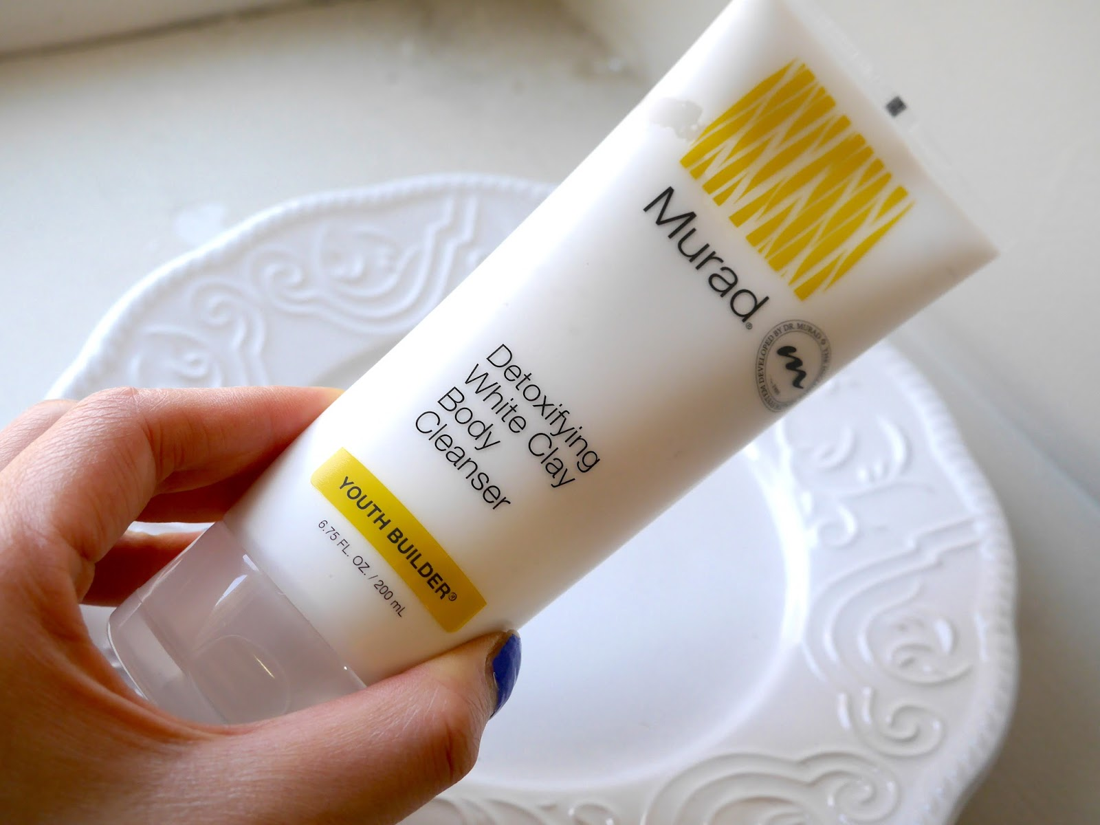 Murad Youth Builder detoxifying white clay body cleanser review