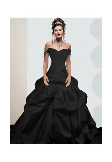 Gothic Black Wedding Dresses For  : Wedding tidbits gothic theme ideas