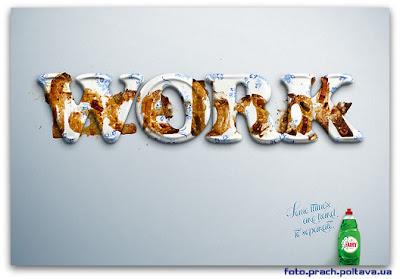 Рекламный постер бренда моющих средств Fairy