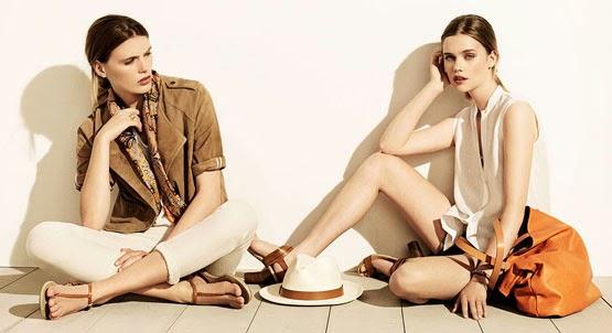 Massimo Dutti mujer moda verano 2014