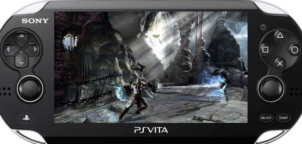 God of War Collection PS Vita Footage