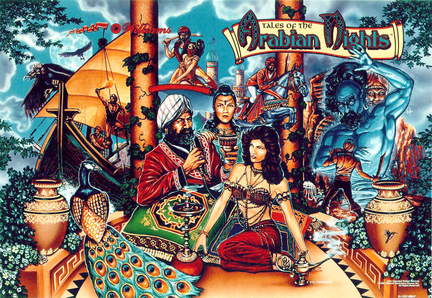 Scheherazade tales of the arabian nights
