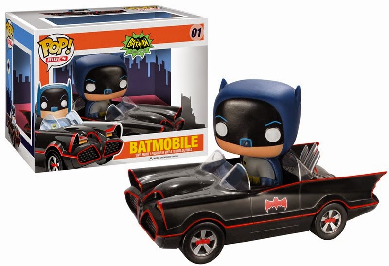 01.- Batmovil Funko Pop!