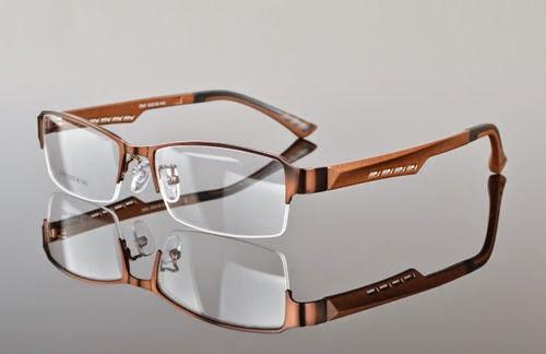 TR90 Men's Sports Fashion Half rimless Eyeglass Frames Optical Eyewear Rx 2387