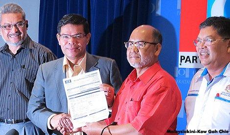 Bapa Saiful Bukhari, Azlan Mohd Lazim sertai PKR
