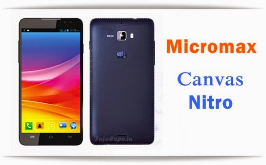 Specifications of Micromax Canvas Nitro A310: 5-inch HD,1.7 GHz Tru-Octacore, 2GB RAM Android KitKat Specs