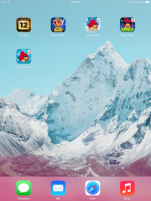 ipad home screen