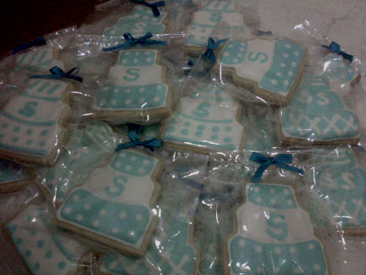 Fancy Cookies - Biru Putih