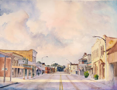 """Morning on Main"" by C.M. Mike Henderson"