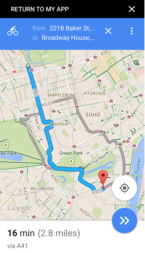 Google Maps Platform: Open Google Maps from your iOS app on