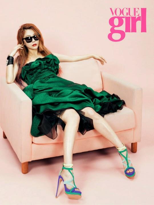 JeA Brown Eyed Girls - Vogue Girl June 2014