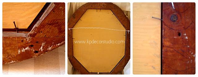 Espejos de madera y escayola dorados con pan de oro