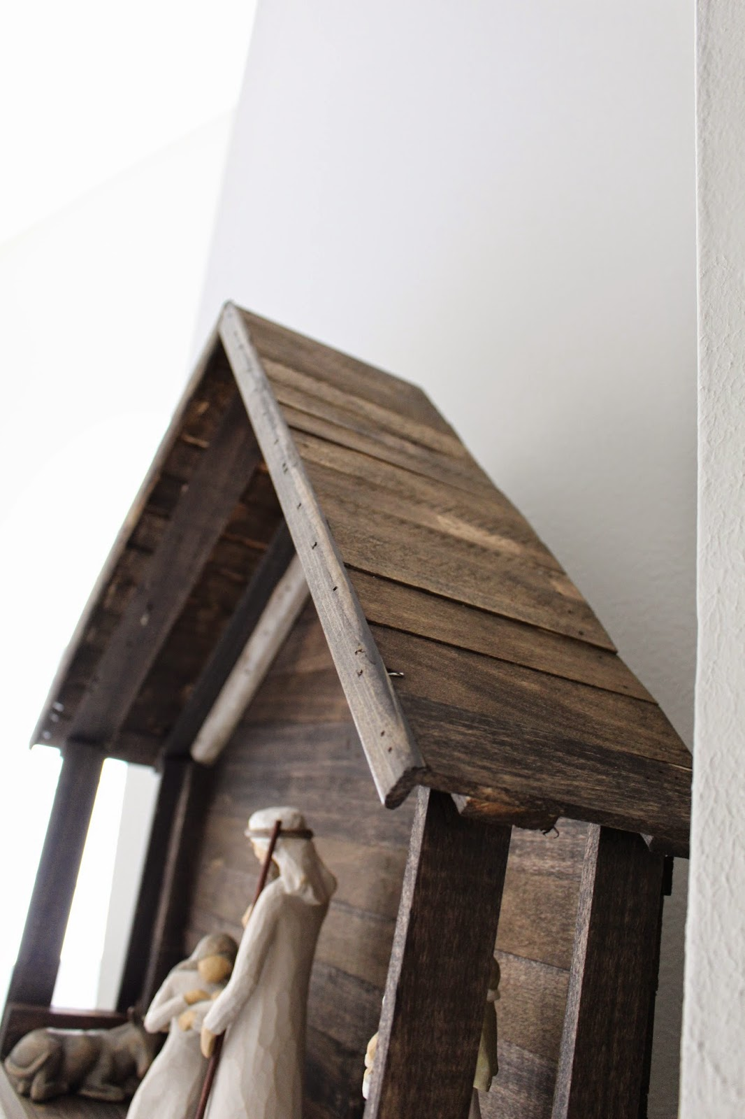 Do it yourself Nativity Stable