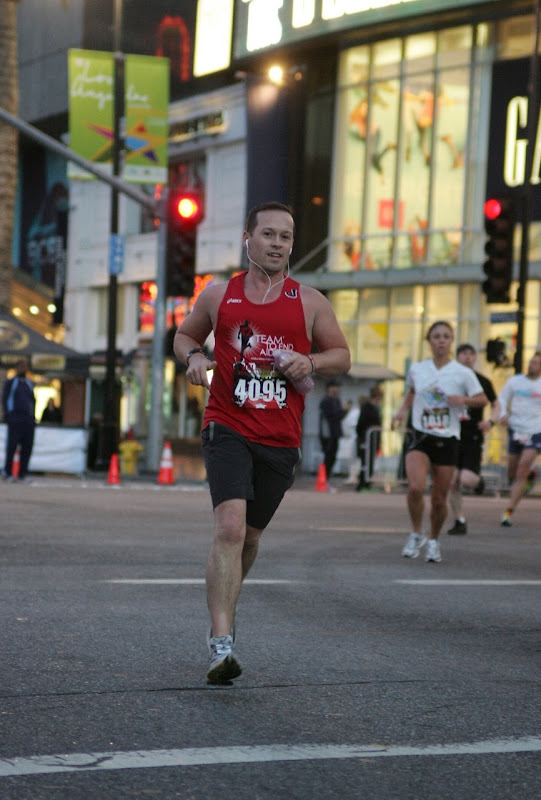 Hollywood Half Marathon runner