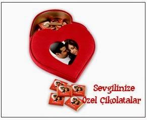 Sevgiliye Özel  Cikolatalar