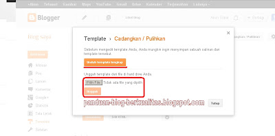 Upload Template Blog
